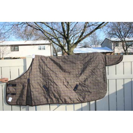New Beautiful Breathable Turnout Blanket 80