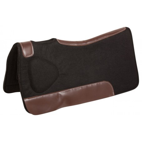 New Corrective Black Felt Orthopedic Western Horse Saddle Pad