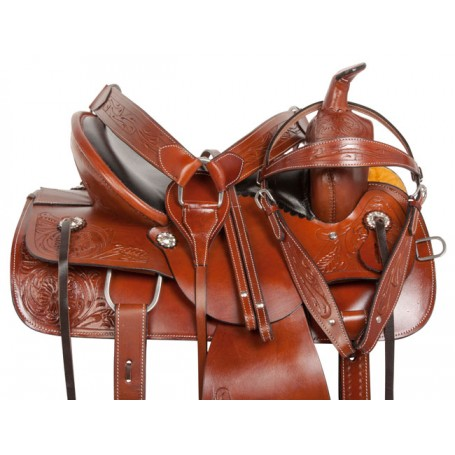 Comfy Cush Western Pleasure Trail Horse Saddle Tack 15