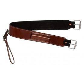 Redwood Chestnut Western Leather Horse Saddle Back Cinch