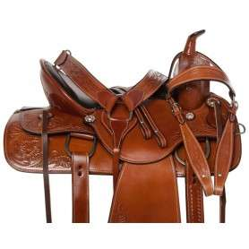 Comfy Cush Premium Western Pleasure Horse Saddle 16 17