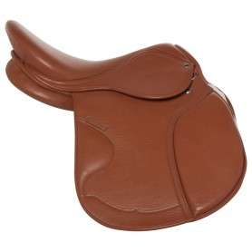 Tan All Purpose Premium English Leather Horse Saddle 16""