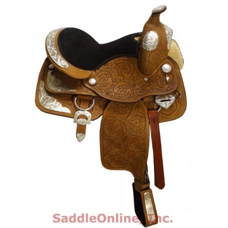 New Premium 16 Beautiful Western Show Saddle