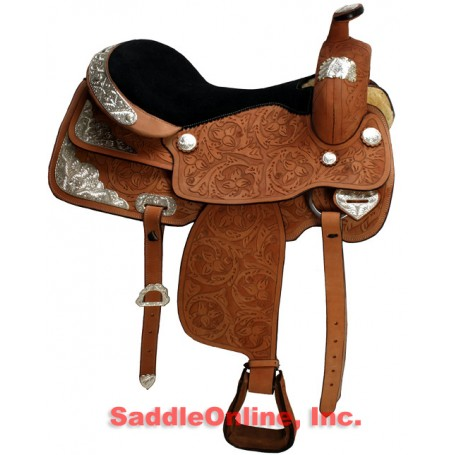 New 15 16 Beautiful Premium Custom Western Show Saddle