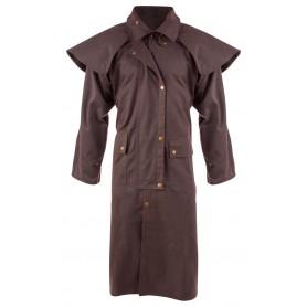 Brown Full Length Mens Womens Australian Duster Coat