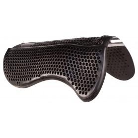 Black Gel Non Slip Seat Saver Corrective Horse Saddle Half Pad