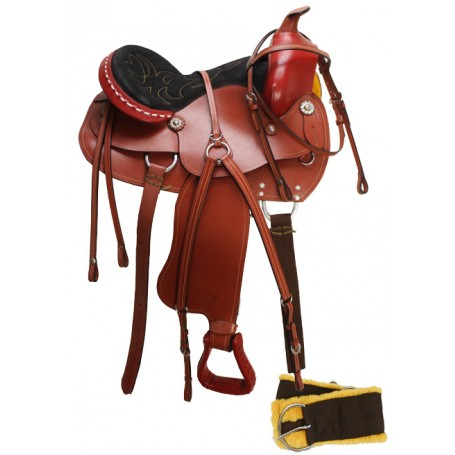 New Western Pleasure Saddle Tack Bridle 15