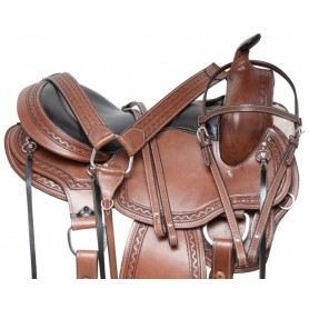 Comfy Cush Western Gaited Trail Endurance Leather Horse Saddle Tack Package