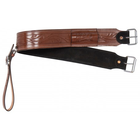All Purpose Western Leather Horse Saddle Back Cinch Bucking Strap