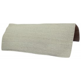Olive Grey Premium Western Wool Show Horse Saddle Blanket