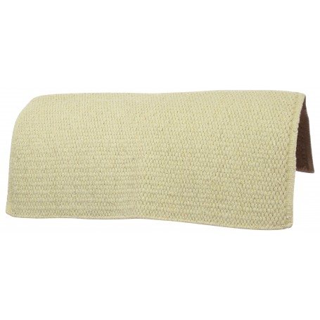Grass Tan Premium Western Wool Show Horse Saddle Blanket
