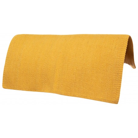Mustard Yellow Premium Western Wool Show Horse Saddle Blanket