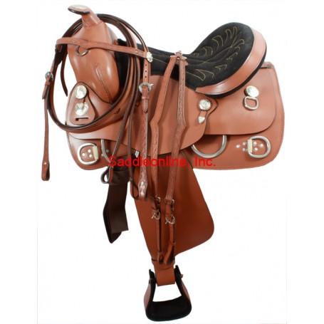 Western Training Saddle Rings & Headstall