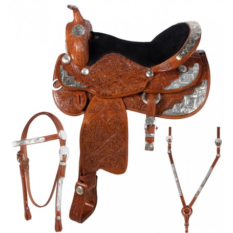16 17 Astonishing Show Saddle Tooled Limited Edition Tack