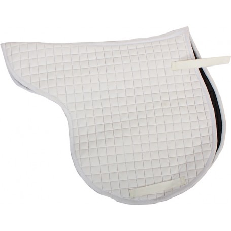Double Quilted White English All Purpse Pad