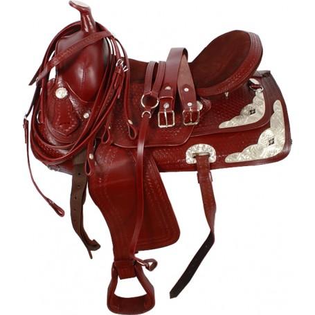 Mahogany Western Show Saddle Tack Package