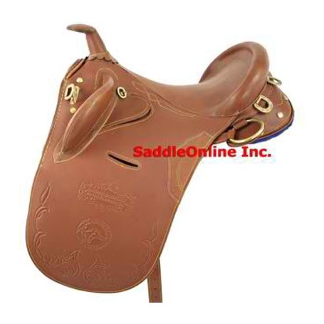 NEW 16 AUSTRALIAN AUSSIE HORSE STOCK SADDLE