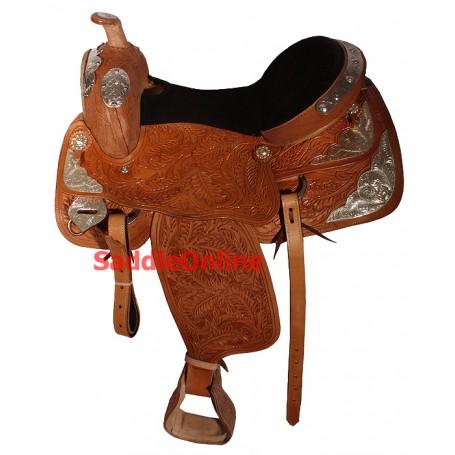 New 16 Beautiful Premium Custom Western Show Saddle