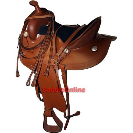 16 17 Amazing Round Skirt Arabian Pleasure Saddle