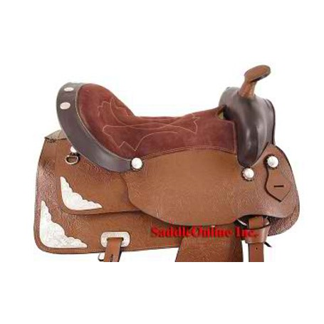 NEW PLEASURE RANCH TRAIL  WESTERN HORSE SADDLE