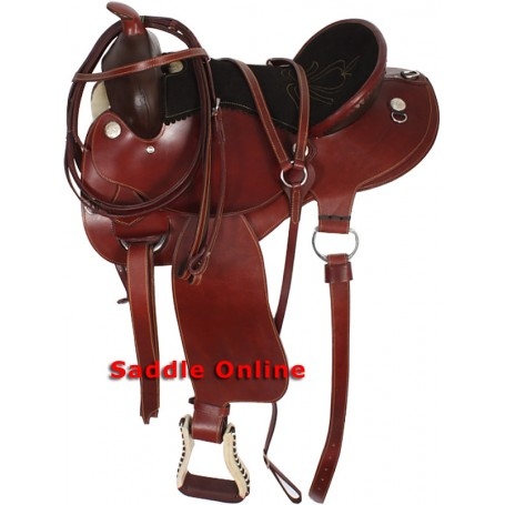 16 Western Endurance Trail Saddle Tack Set