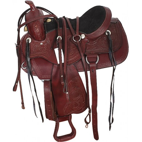 Ranch Work Or Trail Saddle & Headstall Tack 16