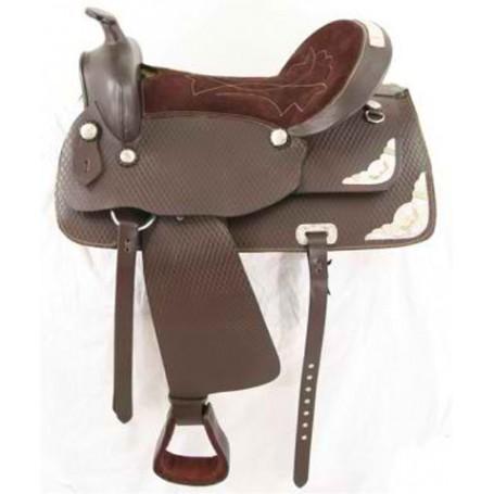 New western horse saddle pleasure ranch