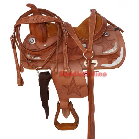 13 Horse Show Leather Saddle Tack Package