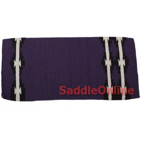 Purple Cutting Reining Western Wool Show Blanket Pad