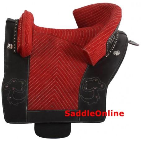 Spanish Portuguese Style Saddle 15 16 Leather Saddle