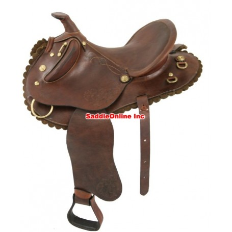 New Beautiful 14inch Stock Saddle.