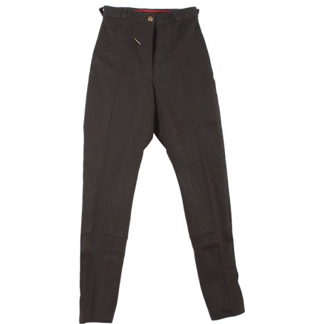 New 22-34 Dark Grey Cool Cotton Riding Breeches / Pants