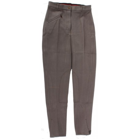 New 22-32 Grey Cool Cotton Riding Breeches / Pants