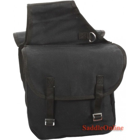 Western Canvas Big Horse Saddle Bags