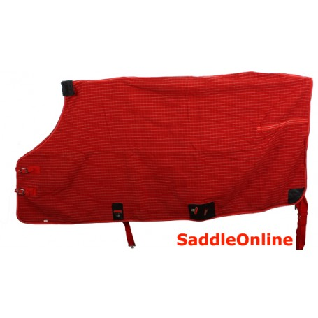 Red White Winter Water Proof Winter Horse Blanket 74 76 78