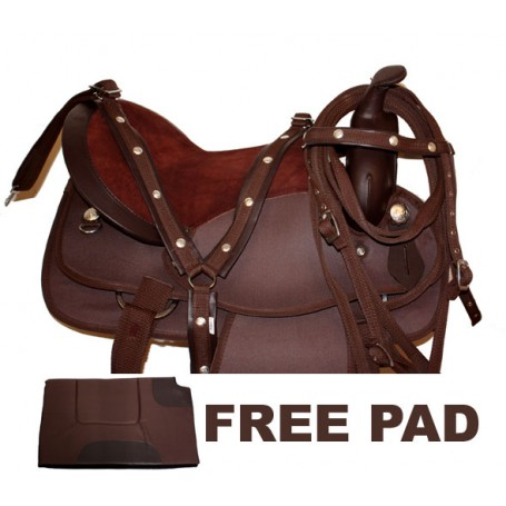 New Synthetic  Show Trail Horse Saddle Tack Pad 15