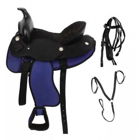 New 14 Pony Horse Western Horse Saddle Tack