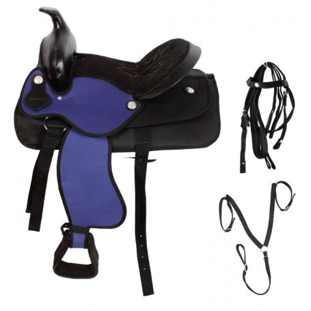 New 14 Pony Horse Western Horse Saddle Tack