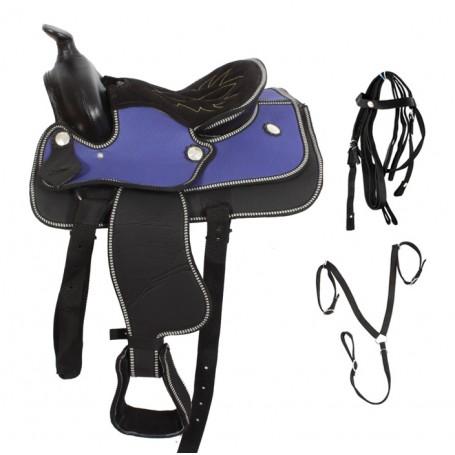 New 12 Pony Mini Horse Western Horse Saddle Tack