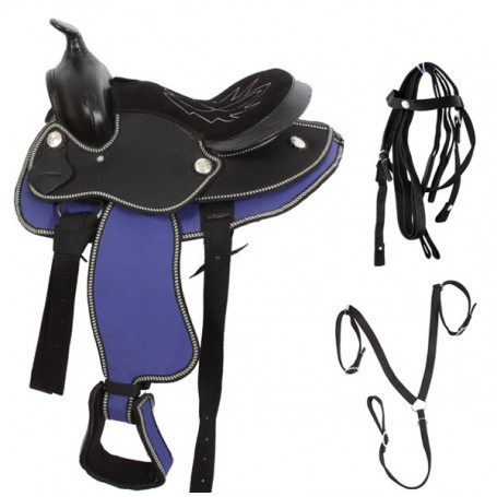 New 12 Pony Mini Horse Western Horse Saddle Tack