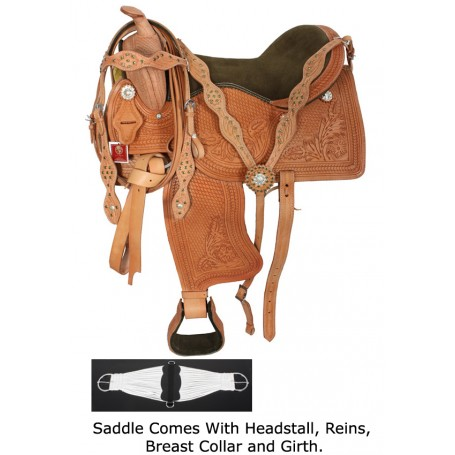 17 18 Royal Western Pleasure Show Saddle Tack