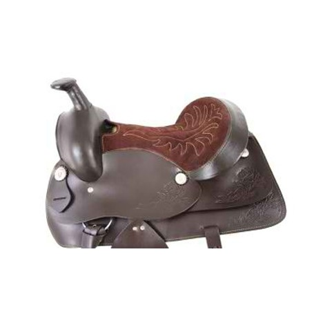 New western horse saddle pleasure ranch trail