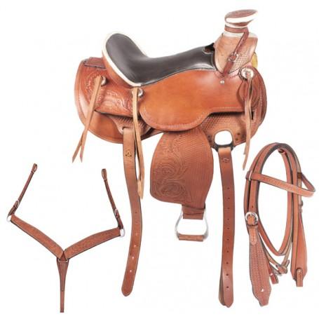 17 Custom Saddle With A fork Tree
