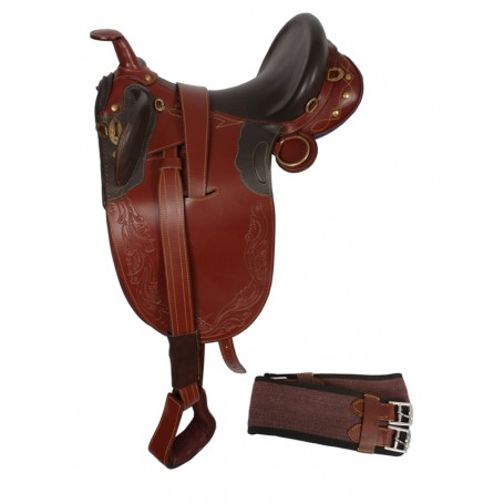 Australian Saddle Horn Stirrups Over Girth 18