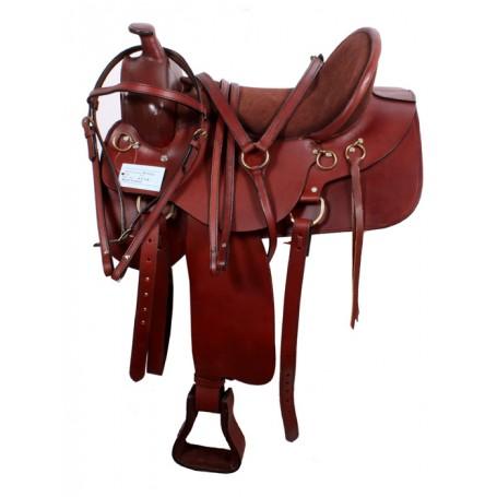 Western Trail Saddle Tack Set 15 16 17 18