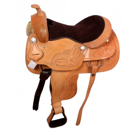 Comfortable Western Pleasure Trail Saddle Tack Set 16