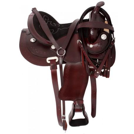 Comfortable Pleasure Trail Saddle Package 15