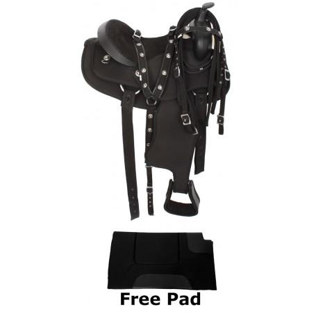 16 Gaited Western Synthetic Horse Saddle Tack