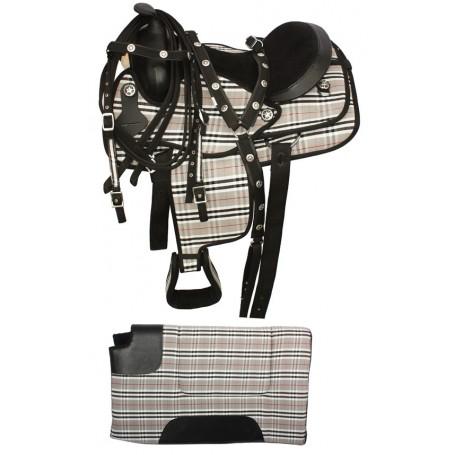 Premium Quality Synthetic Horse Saddle Pad 16-18