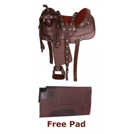 Texas Star Synthetic Western Horse Saddle Tack Pad 16